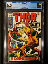 Thor 166 CGC 6.5 OW/W 2nd Him (Adam Warlock) MCU Hot Key!
