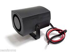 One Tone 12V 105dB Mini Small Loud Siren for Car Atv Motorcycle Alarm Security