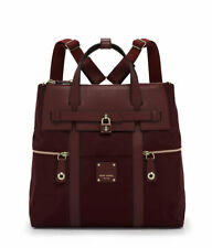 Henri Bendel Oxblood Jetsetter Large Convertible Backpack Bag  NEW NWT