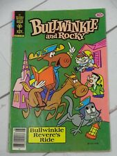 Bullwinkle and Rocky #22 Comic Book Whitman 1979 - C2606