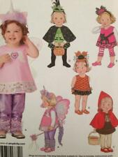Simplicity Sewing Pattern 1774 Children Toddelrs Girls Costume 5 Designs 1/2-4