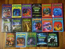 17 USED GOOSEBUMPS DVD W/CASES DVDS some artwork 33 EPISODES