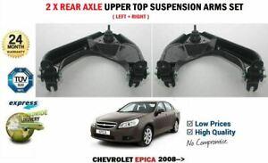 FOR CHEVROLET EPICA 2008-> 2X REAR L+ R UPPER TOP SUSPENSION CONTROL ARMS SET