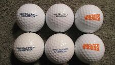 6 Aaaa - Aaaaa Tiger Woods Logo Used Golf Balls Nike Titleist