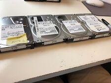 "Lot of 4 - 3.5"" Desktop Hard Drives Various Brands (2TB)"