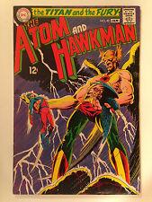 The Atom And Hawkman (1969) 40 Hawkwoman Joe Kubert Cover Art Gardner Fox Dc