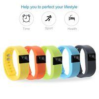 Bluetooth Fitness Sport Smart Wrist Band Sleep Activity Tracker Pedometer Watch