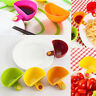 4x Assorted Colors Dip Clip Capacity Tiered Stand Creative Cup Serving Bowls New