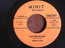 Ernie K-Doe/Mother-in-Law & Wanted $10,000.00 /Minit 623/VG & VG+