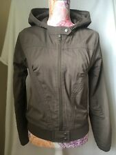H&M Casual Jacket Coat Hood Zip 12