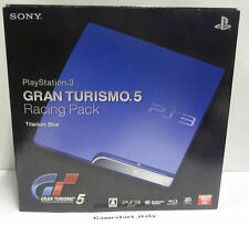 CONSOLE SONY PLAYSTATION 3 GRAN TURISMO 5 RACING PACK LIMITED EDITION 160 GB JAP