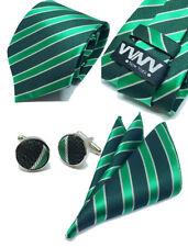 "New ""VYNY"" JACQUARD WOVEN Men's Neckties Tie+Hanky+Cufflinks Sets (VS142)"