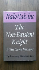 Italo Calvino–The Non-Existent Knight & The Cloven Viscount (1st/1st UK 1962 hb)