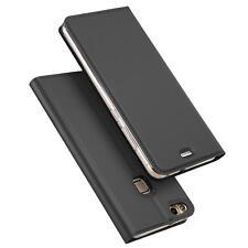 Handy Hülle Huawei P9 Lite Book Case Schutzhülle Tasche Slim Flip Cover