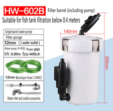 Aquarium Canister Fish Tank External Filter Outside Pre-Filter mini Filter