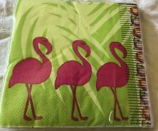 Flamingo Napkins Paper 20 Count 13x13 Summer Party Pink
