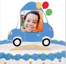Wilton WHEELS Photo Cake Topper Cake Birthday Boys Car Fire Engine FREE POST