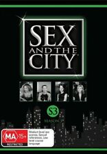 Sex And The City : Season 3 (DVD, 2008, 3-Disc Set)Region 4 Comedy DVD Like NEW