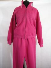 Olympics Tracksuit Jacket Sweat Pants JCPenny Pink Official Woman's M Winter