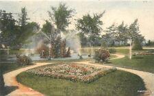 1907 Fountain Oak Grove Cemetery La Crosse Wisconsin hand colored 2289