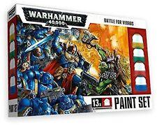 Warhammer 40k: Battle for Vedros Paint Set (13 Paints, 1 Brush) GAW 20-03 NIB