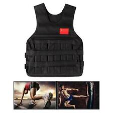 20KG Adjustable Weighted Vest Exercise Fitness Waistcoat Equipment with Sand Bag