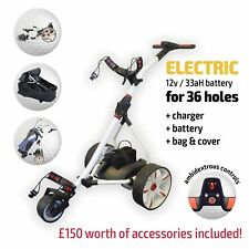 Electric Golf Trolley From Pro Rider, 36 Hole Battery & Charger *NEW 2018 Model*