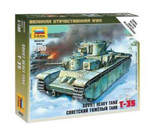 Zvezda Z6203 - 1/100 Soviet T-35 Heavy Tank