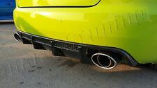 Audi A4 B6 / B7 02-08 Cabriolet rear Bumper diffuser Spoiler