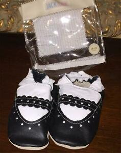 NEW Jack & Lily Leather Soft Sole Baby Shoes Mary Jane  Fancy Girls18-24 Months