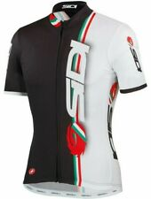 Castelli Sidi Men's Full Zip Cycling Jersey Size Large