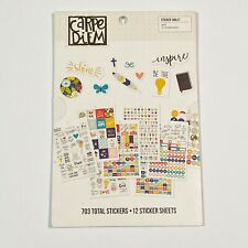 Simple Stories Carpe Diem Faith Planner Stickers Accessories 703 Stickers New
