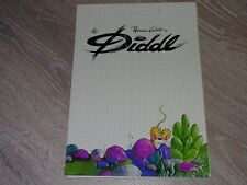 1 bloc A4 DIDDL TRES RARE - collection blanche - 2 feuilles