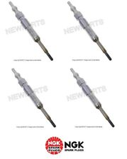For VW Jetta TDI 2005-2006 Set Of 4 Glow Plugs 10 mm OEM NGK N 105 916 08