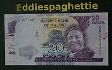 Malawi 20 Kwacha 1-1-2019 UNC P-63