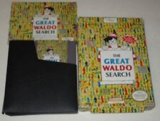 Great Waldo Search (Nintendo NES, 1990) Boxed With Manual (Rare)