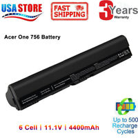 Battery AL12B32 (41CR17/65) For Acer Aspire One 725-0687 AL12B31 AL12X32 AL12A31