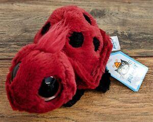 Jellycat Frizzles Ladybird Soft Toy Plush BNWT New Retired (2021)