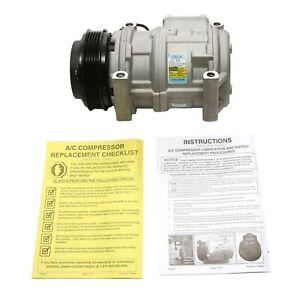 For BMW E30 E32 E34 E36 3 5 7 8 Series A/C Compressor Delphi CS20124