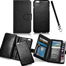 Markenlose Handys Taschen mit Kartenfach in Schwarz
