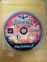 Playstation 2 Dragon Rage (Sony PlayStation 2, 2001) Game Only