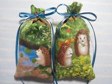 """Hedgehog 5""""X2"""" Sachet-'Country Home' Fragrance-Hedgehogs @ Home-Cindy's Loft-001"""