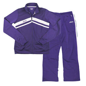 Asics Women's Cabrillo Athletic Track Pants and Track Jacket Set - Many Colors