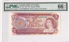 1974 Canada $2 P-47a PMG 66 EPQ  Gem UNC