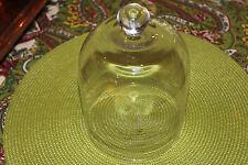 Waterford Illuminology Glass Cloche Bell Jar-Luma Champagne-Waterford Marked