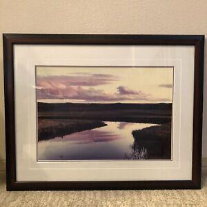 """Limited Edition Thomas D Mangelsen """"Elk Antler Creek"""" Art Print 74/950 Signed"""