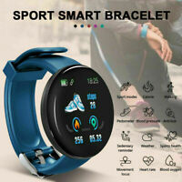 Waterproof Smart Watch Blood Pressure Heart Rate Monitor Fitness Tracker I9E3