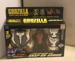 Godzilla Wars Cyber Rodan Power Up Snap On Armor Action Figure 1995 Sealed