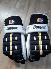"Vintage Cooper Pro Bdt Hockey gloves Armadillo thumb Boston Bruins color 15"""
