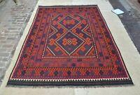 10'2 x 6'9 Handwoven Afghan Kilim Wool Area Rug Kelim Rug Oriental Carpet #3854